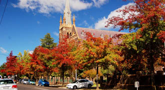 Autumn in Armidale