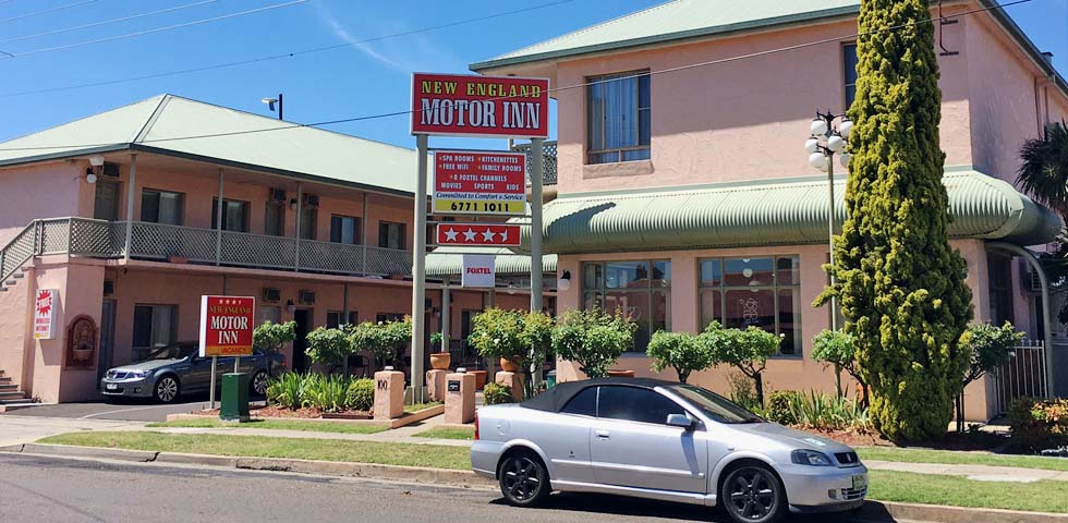Accommodation Armidale New England Motor Inn Home